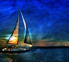 I sail to me Colleen by linaji