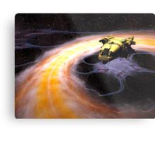 Space Truckin Metal Print