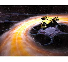 Space Truckin Photographic Print