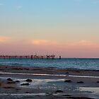 Glenelg Jetty at Dusk by Isabella Teng