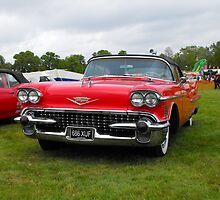 1958 Cadillac Convertible by mike  jordan.