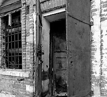 Open old door by igorsin