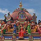 Sri Mariamman Temple by Antonio Zarli