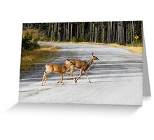 Follow Me Greeting Card