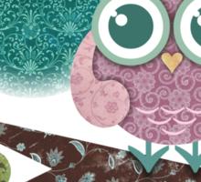 Midnight Owl Sticker