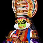 Portrait of Kathakali by Vinod Kumar M