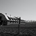 Old Amish Barn in Mt. Hope, Ohio by Theodore Kemp