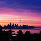 Sunrise Toronto by Linda  Tenenbaum