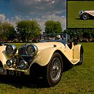 Jaguar SS by David J Knight