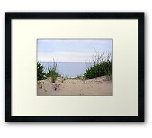 Just Over the Dune Framed Print
