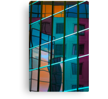 Reflection in colour Canvas Print