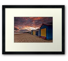 Martha's Dawn Framed Print