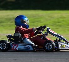 great light whilst Karting by Paul Golz