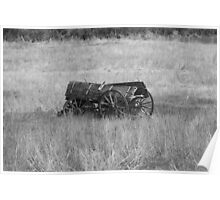 """""""Wagon To Nowhere"""" Poster"""
