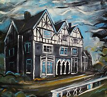 'Welsh Country House' by Martin Williamson (©cobbybrook)