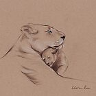 Lions, Tigers, Frogs, Birds & Ladybugs - Animal Calendar 2013 by Rebecca Rees