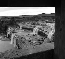 Window to the Falls by Mike Olbinski