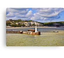 Those White Cliffs of Dover Canvas Print