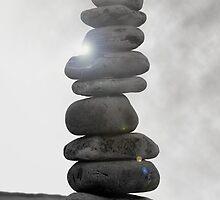 Pebble mini-tower, Camaret by MitchHippie