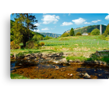A day in Glendalough Canvas Print