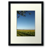Beautiful Day in Upton Upon Severn Framed Print