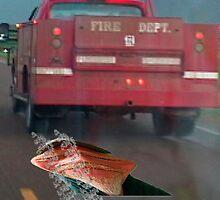 what i'd look like if i were hit by a truck by Dennymon