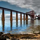 The Forth Rail Bridge by Steve Falla