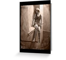 Gothic Photography Series 071 Greeting Card