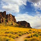 The Flat Iron cliffs of Lost Dutchman by Mike Olbinski