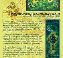 High School Graduation Banner Project, 2007 by Meredith Millar