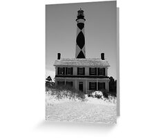 The Lighthouse and the Keeper Greeting Card