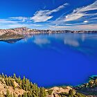 Crater Lake, Oregon by Anne McKinnell