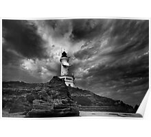The Lighthouse - Pt Lonsdale Poster
