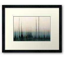 Tall masts #01 Framed Print
