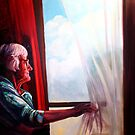 The window watcher by Janne Kearney