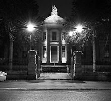 Spooky Dick Institute Night Shot by StevenF