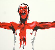 Wayne Rooney - England - POP ART by Lee Fone