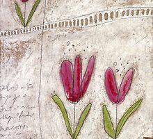 The tulip garden by Tine  Wiggens