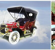 1907 Buick F Touring by Susan Vinson