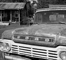 Truck & Shack by AnalogSoulPhoto