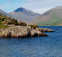 Wast Water & Great Gable by WatscapePhoto
