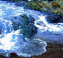Incoming Tide, MacKerricher Point, Mendocino Coast, N. California by Ascender Photography