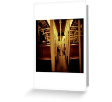 Going home Greeting Card