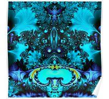 Turquoise Splendor Poster