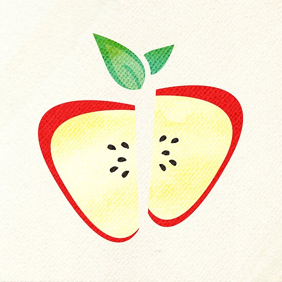 Retro Apple by Tiffany Atkin