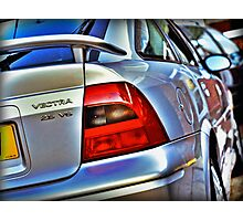 Vauxhall Vectra 2.5 V6 SRi Photographic Print
