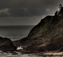 Heceta Head Lighthouse HDR by Jeannie Peters