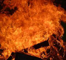 Raging Hot Flames 1 by AlexKokas