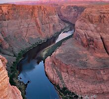 River through Horseshoe Bend by Gregory Ballos | gregoryballosphoto.com