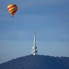 Black Mountain Tower, Canberra by Anna Calvert